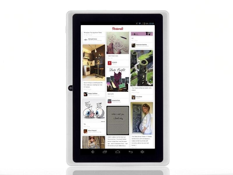 Vente en gros-livraison gratuite 7 pouces Q88 tablette pc double caméra Android 4.2 A23 7 pouces tablette PC double coeur CPU, caméra, 4 GB - 3