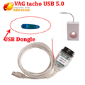 Mejor precio VAG Tacho V5.0 Para NEC MCU 24C32 o 24C64 profesional ECU chip tuning tool versión VAGtacho 5.0 con dongle USB