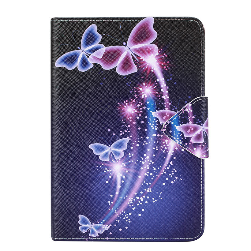Blue butterfly Leather Case For Apple iPad air 2 For iPad mini 4 For iPad 2 3 4 5 6 iPad Pro 9.7 '' Cover Cases Flip Funda Shell leather case flip cover for letv leeco le 2 le 2 pro black