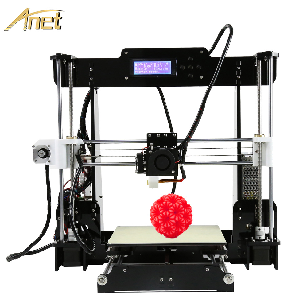Hot Anet A8 Auto Level 3D Printer Reprap Prusa I3 DIY Kits Automatic Leveling 3D Printer
