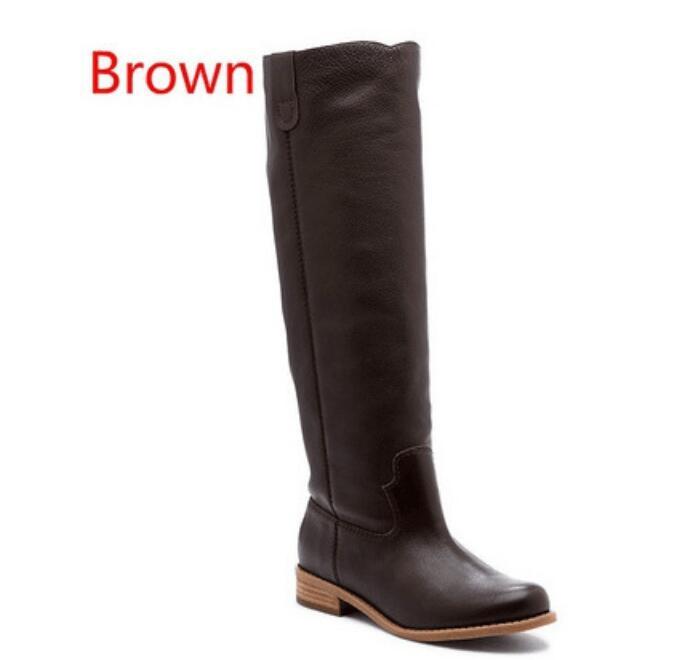 Black Brown Chicas Resbalón Grey Slip De Roma Ab0045 Ete En Botas UpzGqMSV