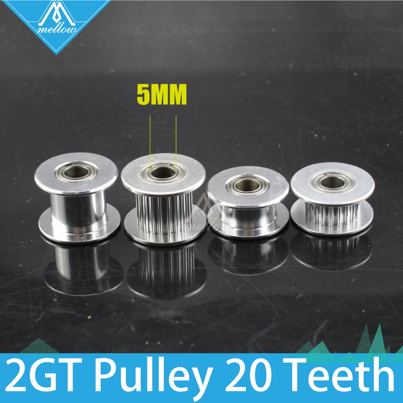 10pcs 3D printer 20 teeth 20tooth timing Gear 2GT 20 tooth Idle pulley Bore 5mm for GT2 belt width 6mm/10mm with/without wheel high quality 10pcs european kitchen door furniture handles creative cupboard wardrobe drawer wine cabinet pulls handles & knobs