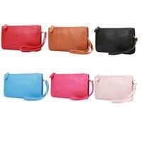 Lattice Pattern Fashion Portable Oblique Mobile Phone Bag For Samsung Galaxy S8 S8plus S7 S7edge S6