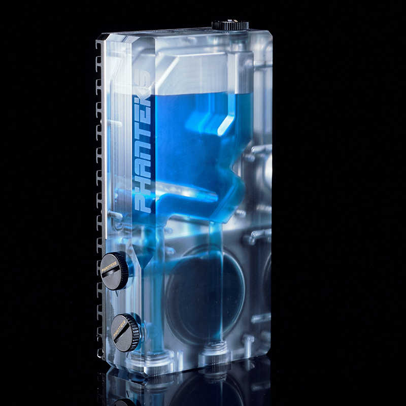 PHANTEKS 120ML RGB Water tank,water cooling TRANSPARENT  reservoir support DDC/D5 pump  support 120MM 140mm fan  PH-R16