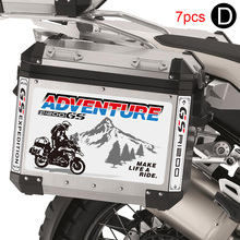 Trunk Case Motorcycle Sticker Side Tail For BMW R1200GS R 1200 GS Aluminum Top Side Tail Luggage Trunk Cases Box R1200GS ADV GSA customized motorcycle trunk motorbike storage box mould motorcycle tail box top case mold making