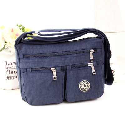 2018 New Fashion Women Shopping Bags!Hot Casual Ladys Nylon Shoulder&Crossbody Flap bag Top All-match Casual Small Carrier