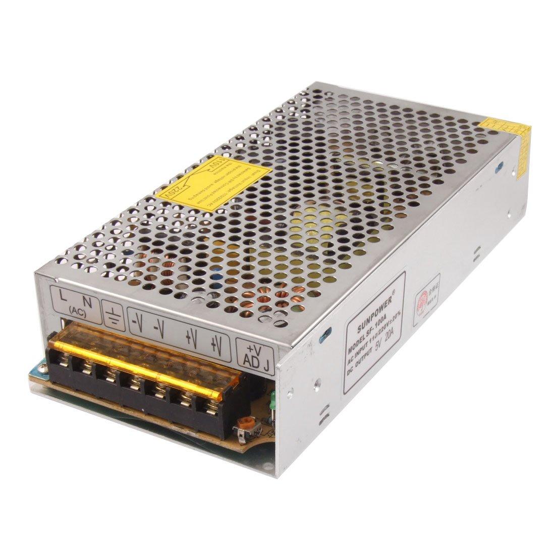 IMC Hot AC 110/220V DC 5V 20A 100W Power Supply Driver for LED Strip Light ac 85v 265v to 20 38v 600ma power supply driver adapter for led light lamp