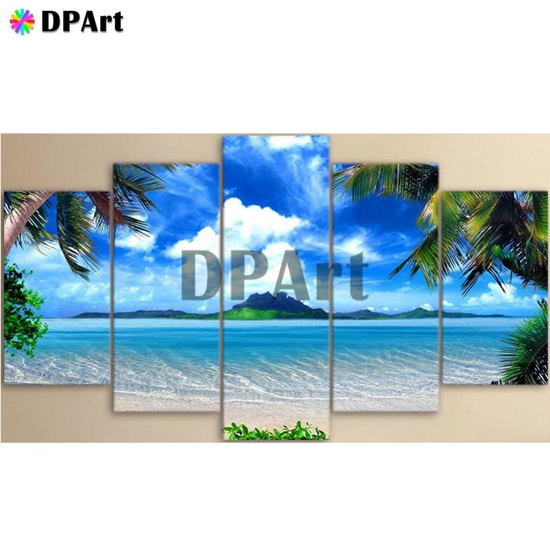 5PCS Diamond Painting 5D Full Square/Round Drill Beach Sea Nature Scenery Daimond Embroidery Painting Cross Stitch Mosaic M8475PCS Diamond Painting 5D Full Square/Round Drill Beach Sea Nature Scenery Daimond Embroidery Painting Cross Stitch Mosaic M847
