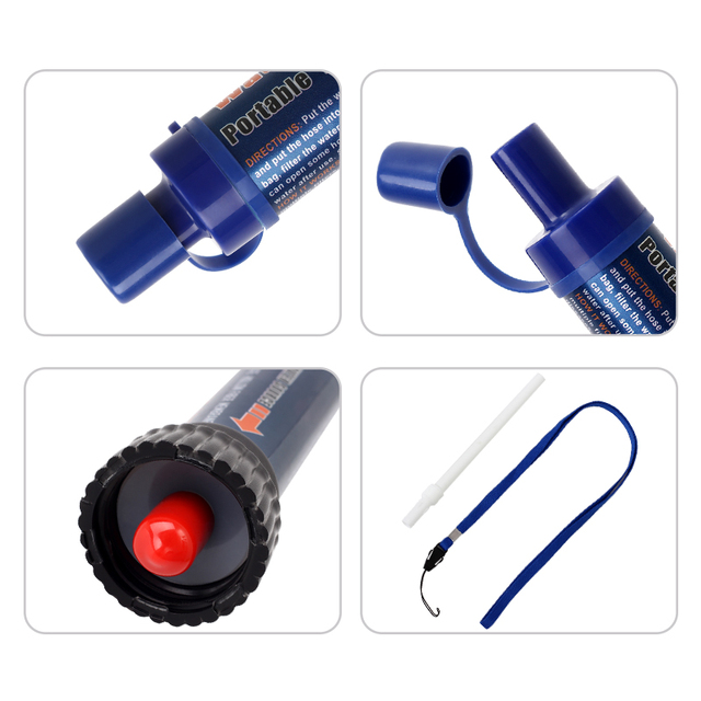 Outdoor Portable Purifier Water Filter Straws 8