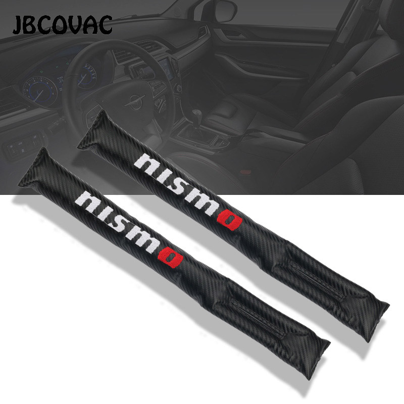 Car Styling Auto Accessories Seat Gap Pad Filler Leakproof Cover Case For Nissan Nismo Qashqai Tiida Teana Skyline Juke X-trail