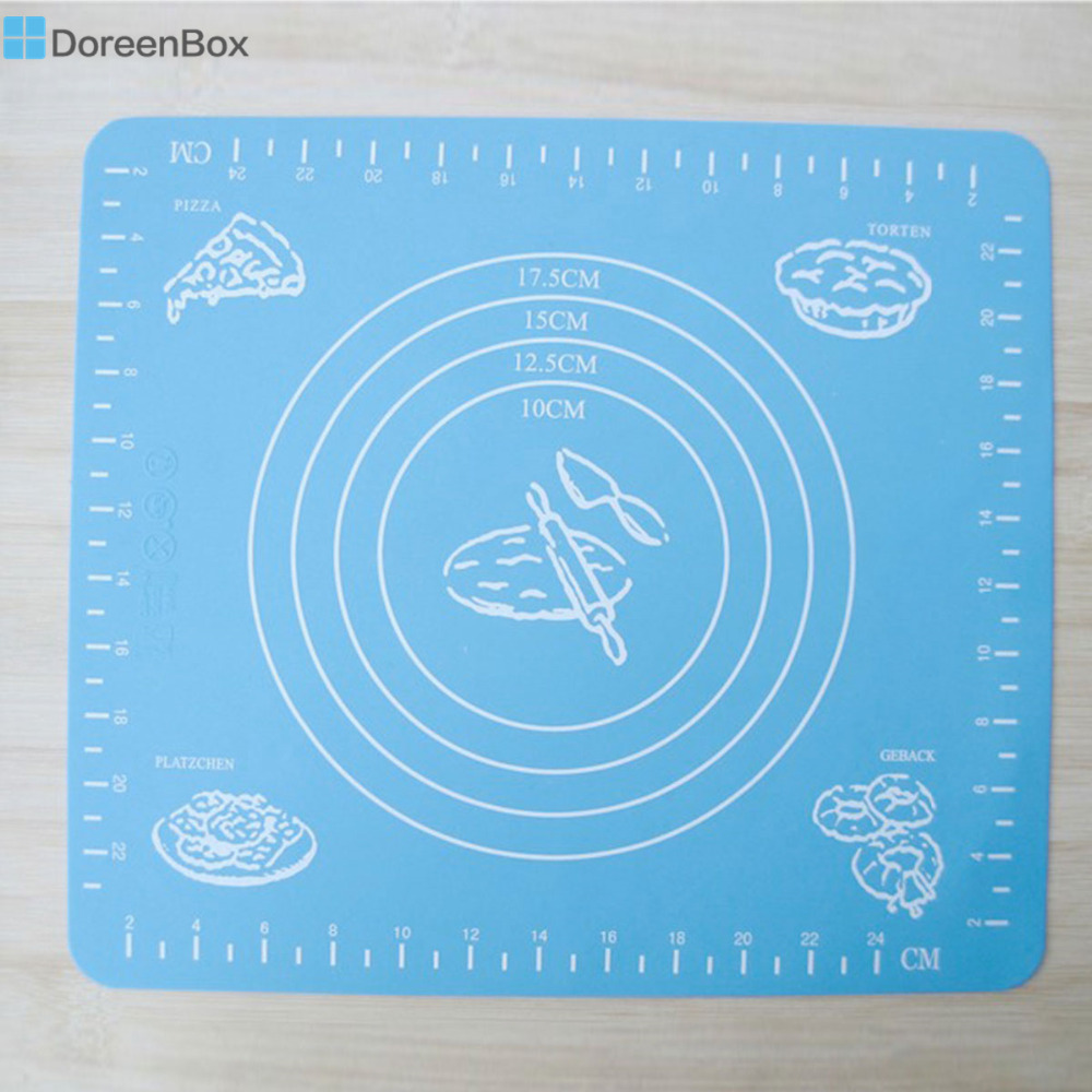 Doreen Box Silicone Baking Mat Sheet Rolling Dough Pastry Cakes ...