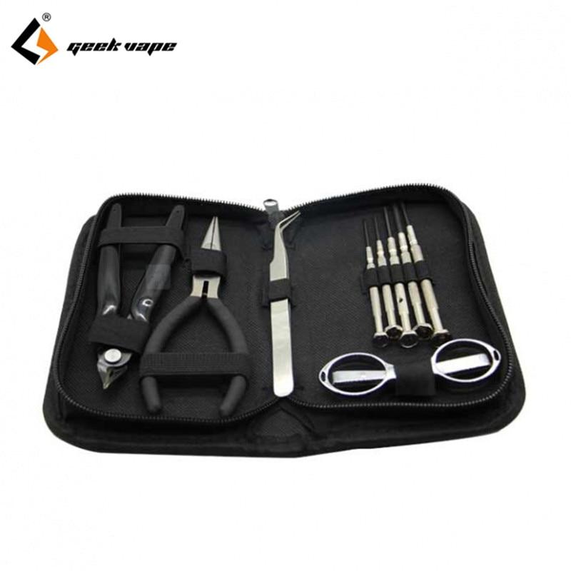 D'origine Geekvape simple outil kit venir avec srewdriver pince conception pour la cigarette électronique DIY vaper facile à utiliser