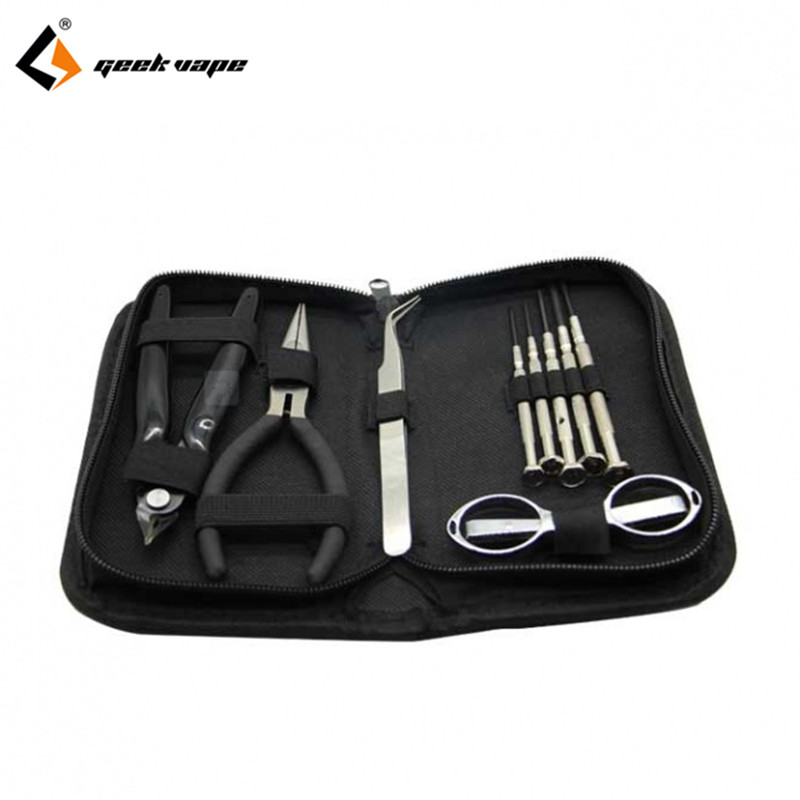 original Geekvape simple tool kit come with srewdriver plier design for the electronic cigarette DIY vaper easy to use