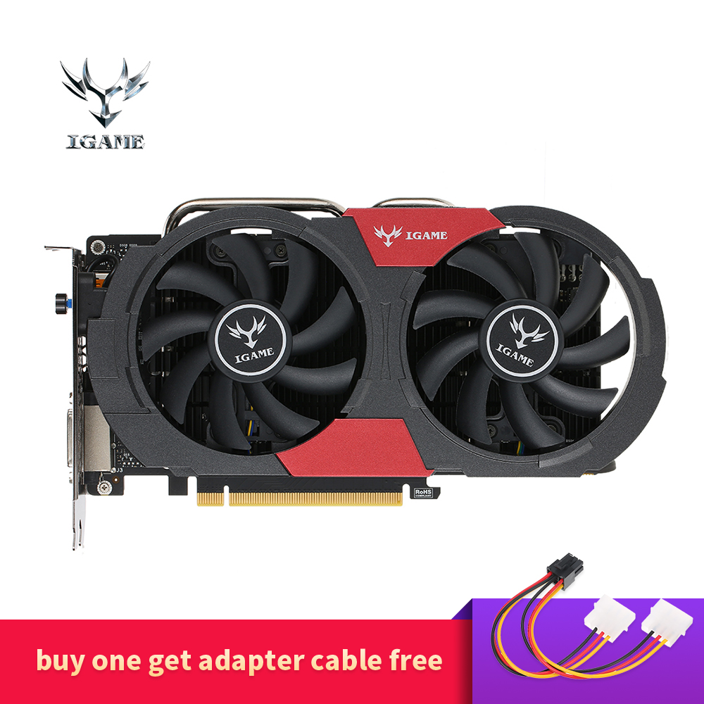 Colorful GTX 1050Ti NVIDIA Graphics Card GeForce iGame GTX1050 Ti GPU 4GB GDDR5 128bit PCI-E X16 3.0 Gaming Video Card Desktop