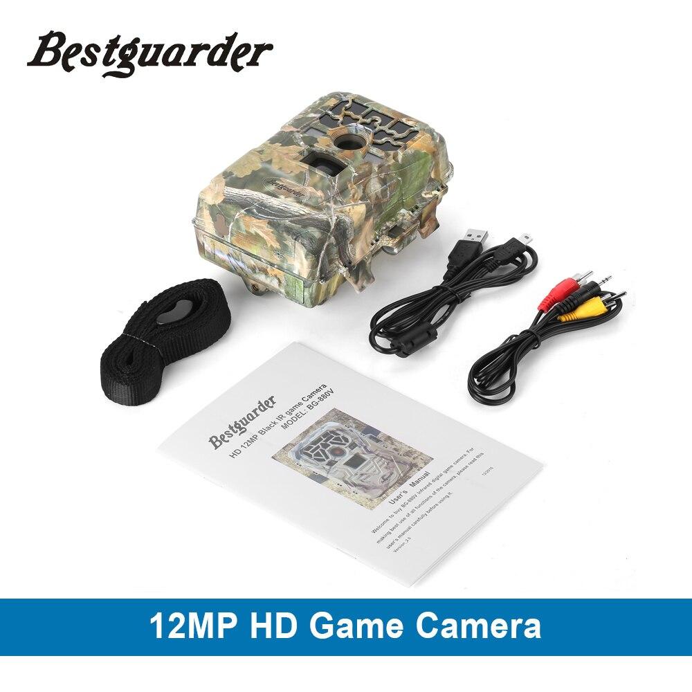 1080 P 12MP numérique GPS chasse caméra SG-880V détection de mouvement infrarouge faune Trail Scouting caméra chasse chasse caméscope