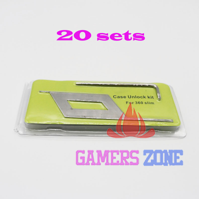 20sets For Xbox 360 Slim S Open Repair Console Controller Case Opening Tool Set Kit For