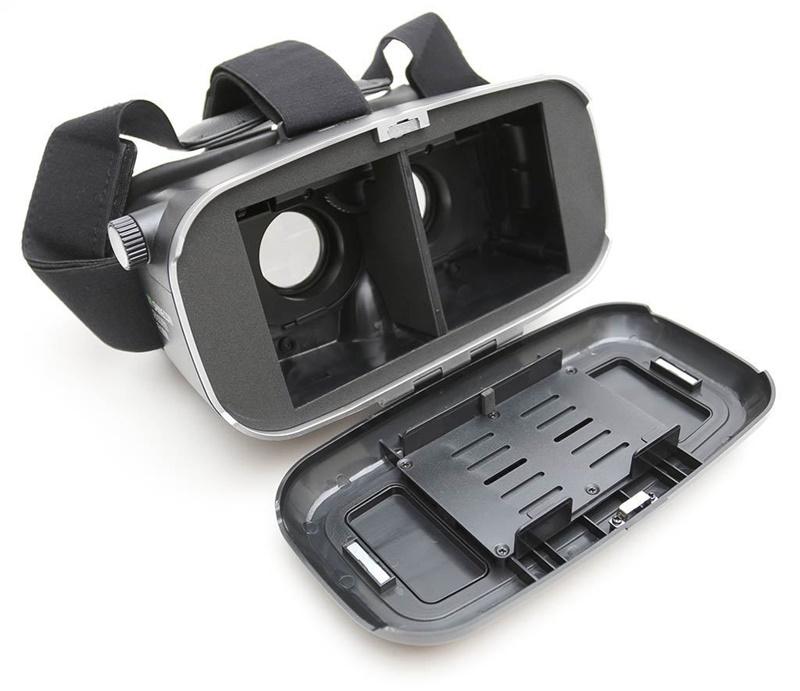 18 Original Shinecon VR Pro Virtual Reality 3D Glasses Headset VRBOX Head Mount Google Cardboard Helmet For Smartphone 4-6inch 29