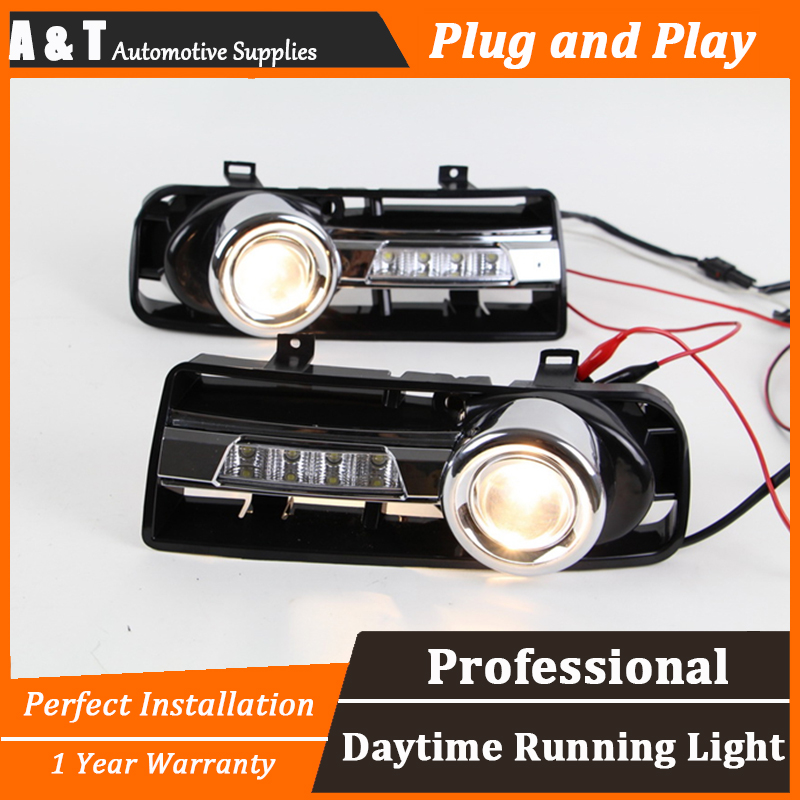 A T car styling For VW golf 4 LED DRL For golf 4 led fog lamps