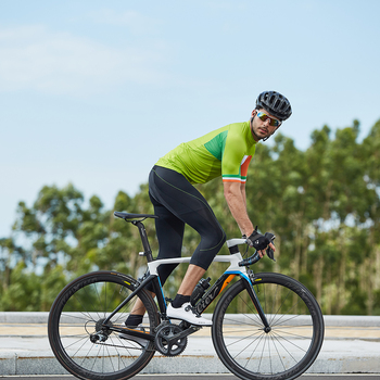 Men's Bike Shorts, 3/4  Padded  , UV Protection, MTB Downhill Men Underpants 24
