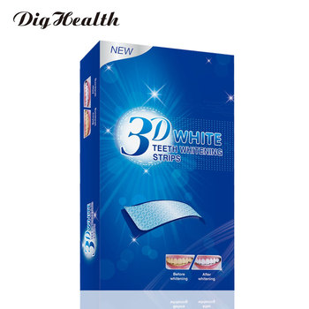 7/14 Pairs 3D White Gel Teeth Whitening Strips Stain Removal Oral Hygiene Care Strip Dental Bleaching Tools