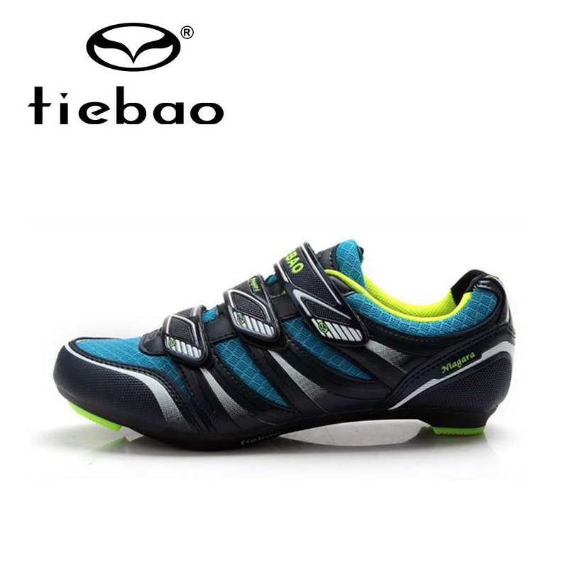 Tiebao Men High Quality Road Bike Bicycle Shoes Self-locking Cycling Shoes Wear-resistance Cycling Shoes Zapatos de ciclismo west biking bike chain wheel 39 53t bicycle crank 170 175mm fit speed 9 mtb road bike cycling bicycle crank
