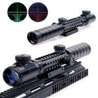 Air Hunting Rifle Scope New 3 9x32EG Riflescope Red Green Illuminated Rangefinder Reticle Shotgun With Lens