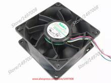 Free Shipping For NIDEC V92E12BUA7-07 T35A3 DC 12V 3.24A 4-wire 6-pin connector 80mm 92x92x38mm Server Square cooling fan