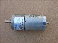 JGA25-370 DC Biegów silnik z metal gear 3 kg. CM 5A 6 V do 12 V 200 RPM dla Inteligentny pojazd robota