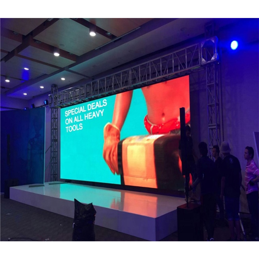 P6 Indoor Led Video Wall / Rental Stage Led Display Screen / Stage Background Outdoor Led Panel With Nova Control System