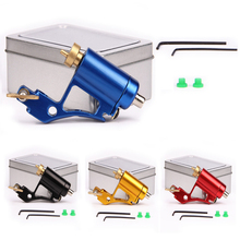 Professional Rotary Tattoo Machine Aluminium Alloy CNC Tattoo Frame Tattooing Gun for Shader Liner fit Standard Needles 4 Colors