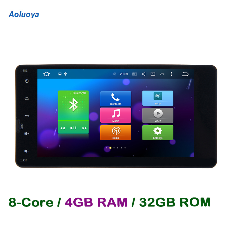 Aoluoya RAM 4G Octa Core Android CAR font b Radio b font DVD GPS Player For