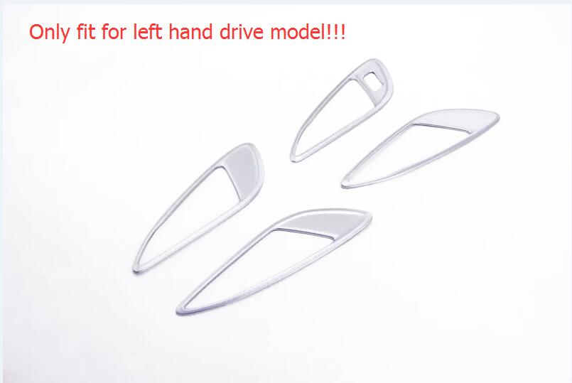 Only Fit For Left Hand Drive 2016 2017 For Opel Astra K 4pcs Matte Inner Handle