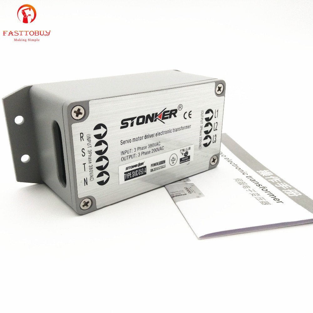 Electronic Transformer Power Transformer 3 Phase 380V to 220V Power Supply for 5kw Servo Drive SVC