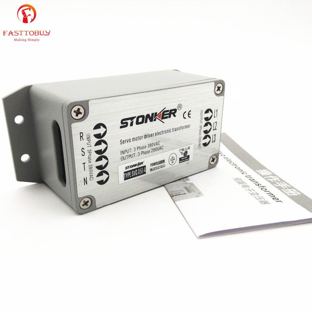 Electronic Transformer Power Transformer 3 Phase 380V to 220V Power Supply for 5kw Servo Drive SVC 050 A