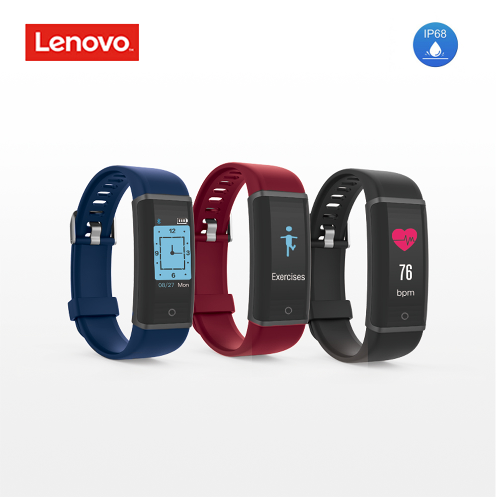 Intelligente Armbänder Original Lenovo Hx03f Smart Band 0,96 tft Touch Screen Ip68 Wasserdichte Smart Armband Fitness Gesundheit Tracker Armband
