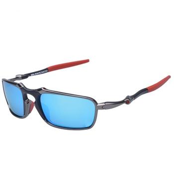 MTB spolaryzowane okulary do biegania oprawki ze stopu okulary rowerowe UV400 okulary do jazdy konnej okulary przeciwsłoneczne na rower okulary motocyklowe óculos gafas 6020 tanie i dobre opinie Polarized 37mm Black 60mm Poliwęglan Unisex Jazda na rowerze