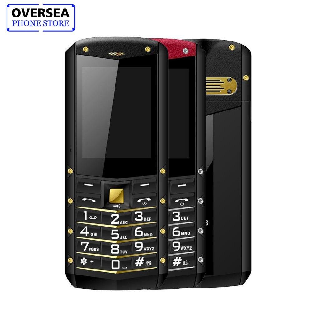 AGM M2 телефон Особенности телефон 2,4 2 г GSM двойной карточки сзади 0.3MP IP68 открытый Водонепроницаемый противоударный фонарь-прожектор 1970 мАч те...