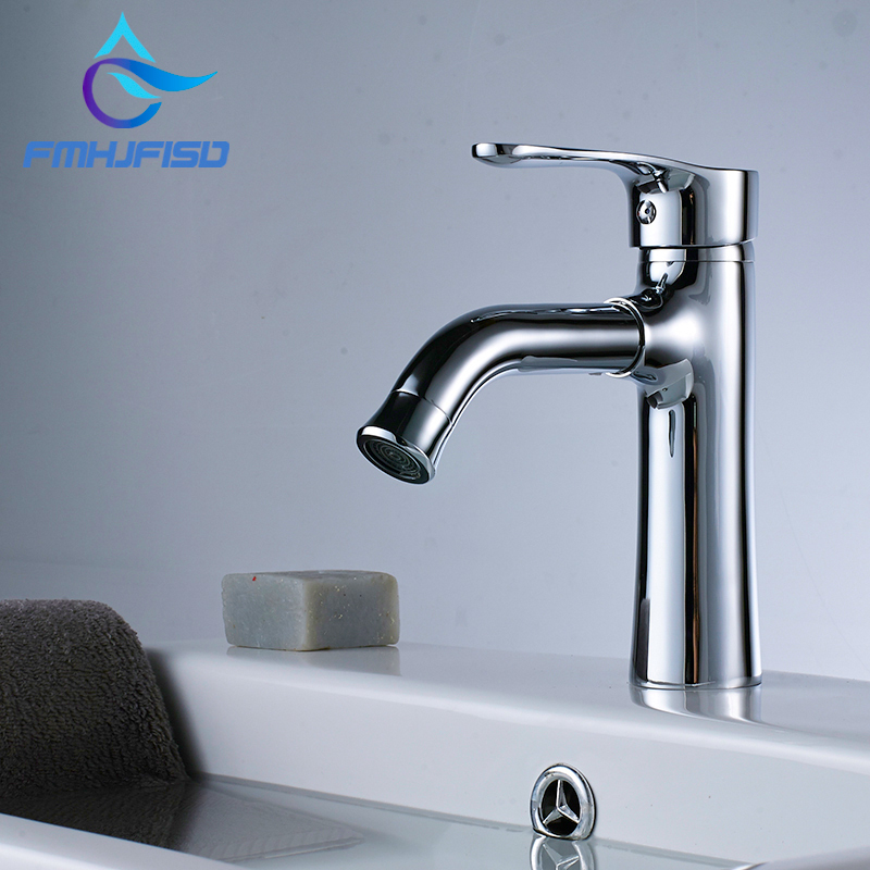 Basin Faucet Modern Rorating Style Cold and Hot Water tap Mixer Single Handle Single Hole micoe pull style hot and cold water kitchen faucet mixer single handle single hole modern style chrome tap 360 swivel m hc103