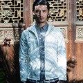 Men hooded sportswear jacket casual fashion slim fit jackets cotton hoodies auttumn mens coat plus size M-3XL,C26