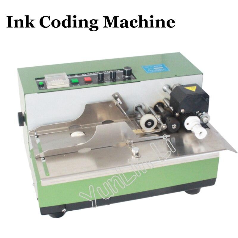 Machine de codage de sac en plastique machine de codage automatique de roue dencre machine de marquage dencre machine de codage de date de Production