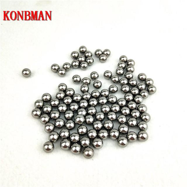 60/100pcs 6mm 8mm 9mm 10mm Hunting Slingshot Balls Stainless AMMO Steel Balls For Sling Shot Stainless Steel Balls For Shooting