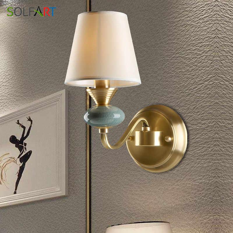 Бра Настенные светильники европейские стиль для спальни фойе столовая лампа Лофт Светодиодная лампа