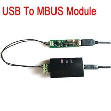 USB в MBUS/M BUS мастер конвертер передачи данных модуль, или MBUS Slave модуль для MBUS Smart control/meter