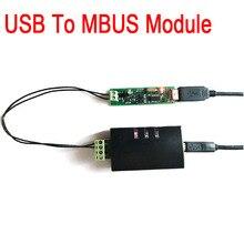 Usb to mbus/M BUS 마스터 컨버터 통신 모듈, mbus smart control/meter 용 mbus slave 모듈