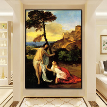 World famous painting Titian Wecellio