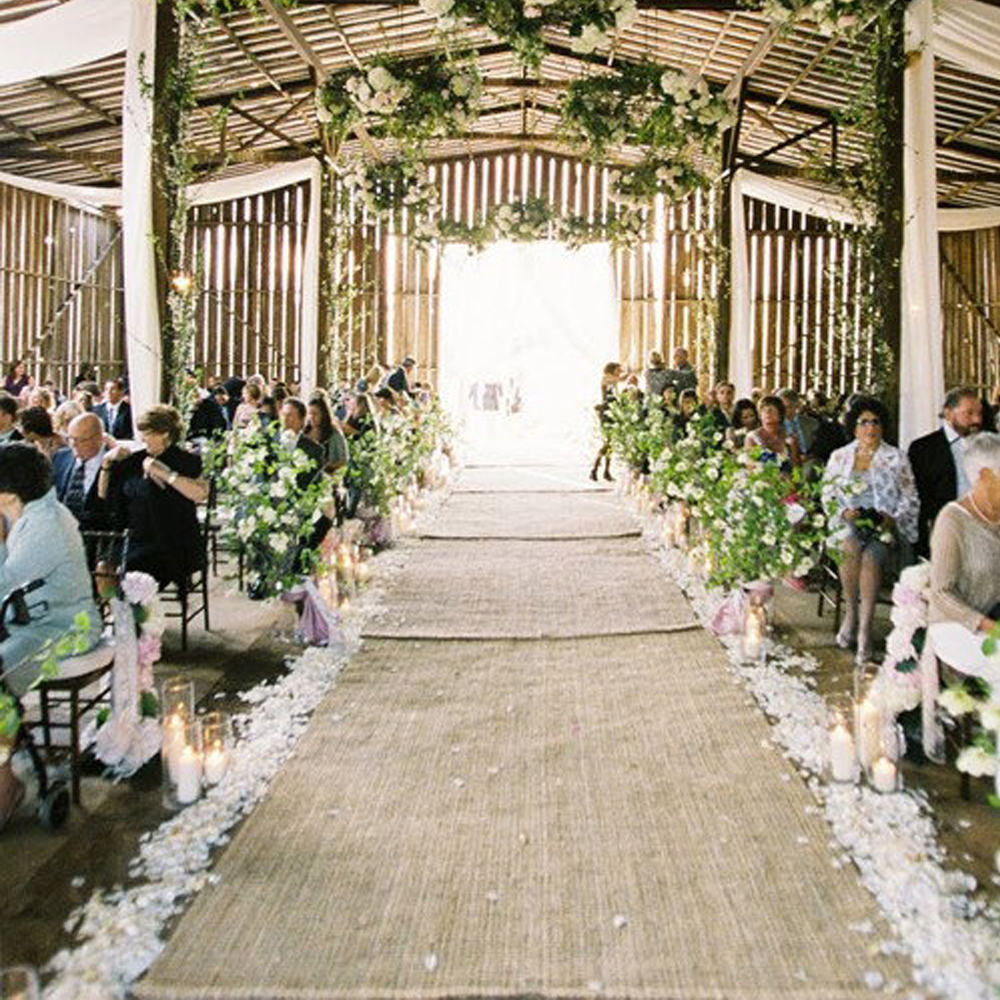 Burlap Wedding Altar: Burlap Aisle Runner Wedding Aisle Runner Burlap Wedding