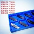 Оригинальное качество MGMN200/MGMN250/MGMN300/MGMN400/MGMN500/-G NC3030 PC9030 CNC твердосплавная вставка Mgehr2020-3 токарный инструмент