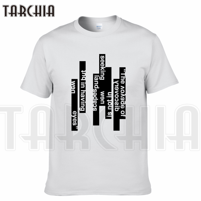 TARCHIA 2018 New Brand t-shirt words arrive funny cotton tops tees men short sleeve boy casual homme tshirt t plus fashion