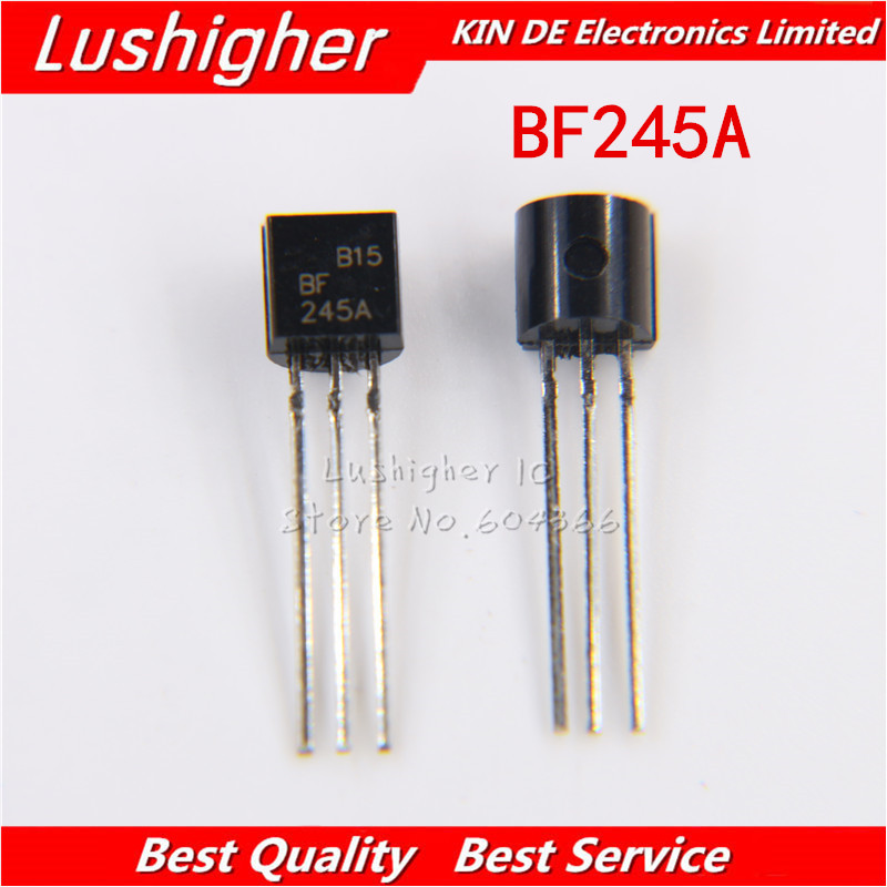 10PCS BF245A TO92 BF245 TO-92 new original free shipping