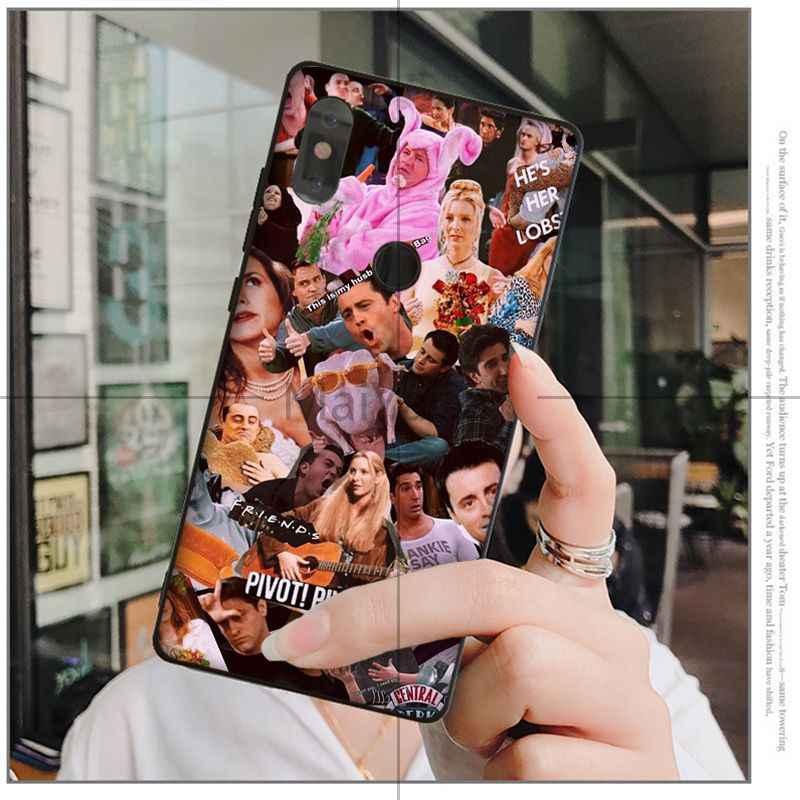MaiYaCa Bạn Bè truyền hình TPU đen Điện Thoại Ốp Lưng dùng cho Huawei Mate10 Lite P20 Pro P9 P10 Plus View 10 bao da